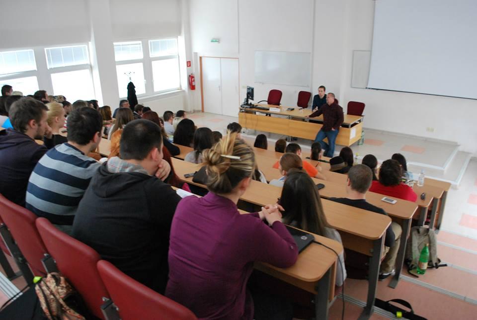 Beseda so študentmi (24.3.2014)